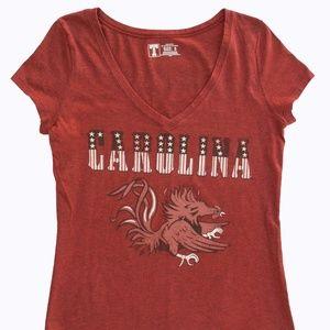USC South Carolina Gamecocks Scoop Neck Women's S